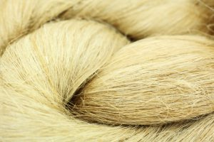 Macro photography. Natural fibre background.
